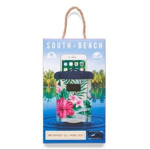 South Beach Accessories - Watermelon or Floral Waterproof Cell Phone Case